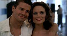 Brennan and Booth #Bones