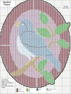 Bluebird plaque