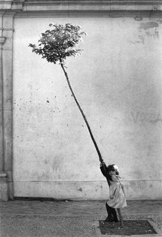 View Petite Fille, Petit Arbre by Sabine Weiss on artnet. Browse upcoming and past auction lots by Sabine Weiss. Sabine Weiss, Robert Doisneau, Black White Photos, Black And White Photography, Monochrome Photography, Film Noir Fotografie, Street Photography, Art Photography, People Photography