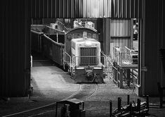 RLCX is paused inside the Commercial Metals Company (CMC Steel Mill) in October, A crew member is out of frame making a couple to pick up some cars inside the Cayce, South Carolina location Framed Prints, Canvas Prints, Art Prints, Metal Company, Steel Mill, Railroad Photography, The World's Greatest, Unique Art, Fine Art America