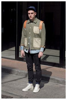 Men's Street Style London #RunwayRepublic