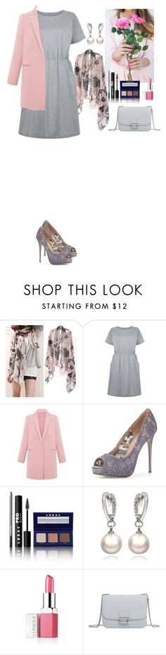 """""""Date Time TOMTOP"""" by eliza-redkina ❤ liked on Polyvore featuring Valentino, LORAC, Clinique, MANGO, outfit, like, look, lovely and tomtop"""