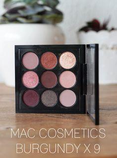 MAC Burgundy x 9 Lidschatten Palette