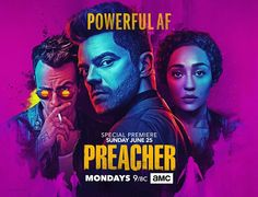 Character Promotional Posters For AMC's 'Preacher' - Entertainment - Action Figures Toys News ToyNewsI.com