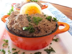 This is my locally famous chopped liver. Its definitely not healthy, but it is really good. I have been promised kingdoms and children have been named after me because of my chopped liver. ;-)