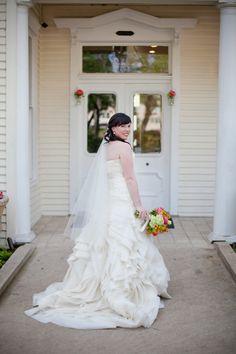 Whimsical Allan House Wedding  Read more - http://www.stylemepretty.com/texas-weddings/austin/2014/02/03/whimsical-allan-house-wedding/