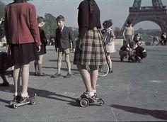 Paris during the occupation propaganda photos
