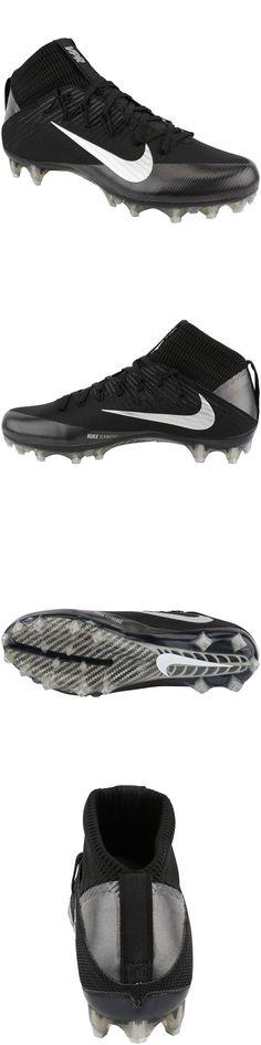 Men 159116: New Nike Vapor Untouchable 2 Football Cleats Black Silver Size  10.5 (824470
