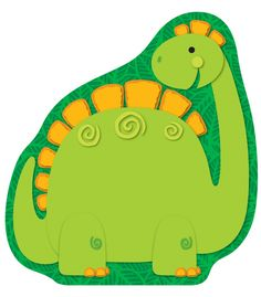 Dinosaur Notepad -could buy and use for counting, letter match, etc.