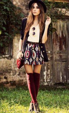 Imagem via We Heart It https://weheartit.com/entry/166550135 #chemise #clothes #girls #glasses #jacket #jupe #Motif #shoes #swag #sac