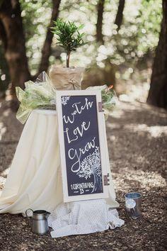 Watch love grow: http://www.stylemepretty.com/california-weddings/san-ramon-california/2015/10/27/rustic-summer-wedding-at-the-ranch-at-little-hills/ | Photography: Shaun Menary - http://shaunmenary.com/