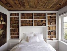 over the bed books