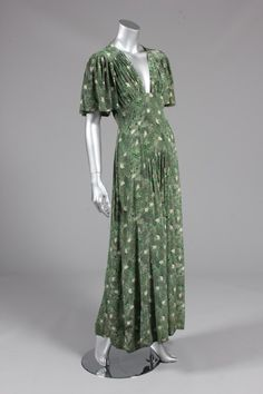 Ossie Clark for Radley printed morocain dress, early 1970s, -