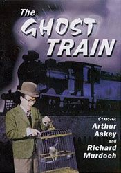 Travelers are stranded overnight at a rural train station that locals believe to be haunted. Fondly remembered British comedy-thriller with musical hall stars.  Askey can be annoying to the uninitiated and much might be tedious without a cultural appreciation and fondness for the period. But valuable as escapism, a record of the principals and of Arnold Ridley's (Dad's Army) play. I thank yew.