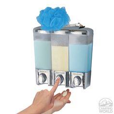 The Dispenser - 3 Chamber - Better Living 72344 - Bathroom Accessories - Camping World
