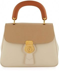 Burberry Trench Large Leather Top-Handle Satchel Bag b0526cb67c655