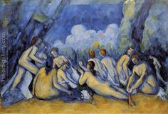 The Large Bathers3 Paul Cezanne Reproduction | 1st Art Gallery
