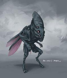 Alien monster 053 by Alexander Thümler (miNze).