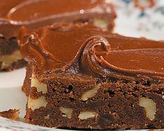 Brownie de chocolate e nozes!!! :)