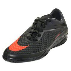 buy popular a54a8 5bfe4 Nike Hypervenom Phelon IC - Dark Charcoal Total Crimson Black Indoor Soccer  Shoes Soccer