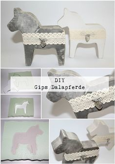 DIY Beton / Gips Dalapferde