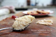Almond Paste (2 ingredients, 2 minutes) by @PaleoParents