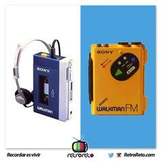 ¿Cuál de estos fue tu primer walkman? RetroReto.com
