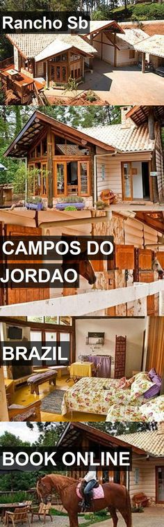 Hotel Rancho Sb in Campos do Jordao, Brazil. For more information, photos, reviews and best prices please follow the link. #Brazil #CamposdoJordao #travel #vacation #hotel