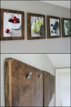 Spruce up your home by displaying photos in these rustic DIY photo clipboards. Is this going to be your next craft project? :)