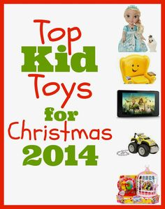 I am getting so excited for Christmas! Toy lists are starting to come out!!! I love this list!