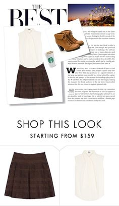 """""""Untitled #634"""" by thepinkjellyfish ❤ liked on Polyvore featuring Burberry, Jil Sander Navy and Post-It"""
