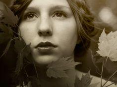 """""""A Piece of Nature"""" Photographer: Noelle Buske, Self-Portrait"""
