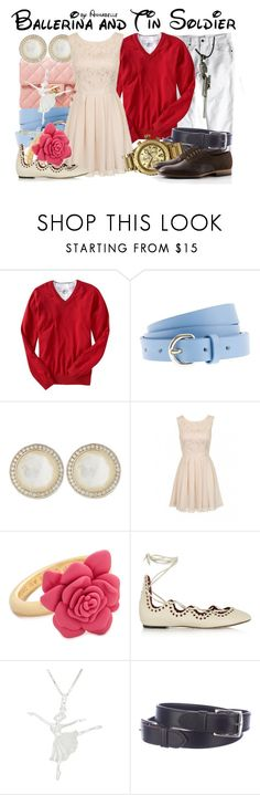 """Ballerina and Tin Soldier"" by annabelle-95 ❤ liked on Polyvore featuring Old Navy, J.Crew, Ippolita, Chi Chi, Marc by Marc Jacobs, Isabel Marant, Hermès and Nixon"