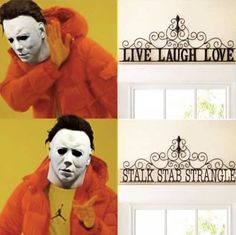 The bro that got to go! Funny Halloween Memes, Halloween Movies, Halloween Horror, Horror Movies Funny, Horror Movie Characters, Comedy Movies, Horror Films, Dark Jokes, Dark Humour Memes