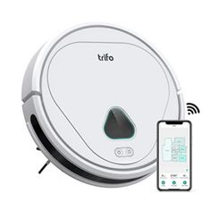 Amazon has the Trifo Home Robot Vacuum Cleaner, Home Security Robot Vacuums, AI Camera Recording, App Controlled, Alexa-Enabled (4000Pa, Pet Hair Extractor) for Dog Cat marked down from $699.99 to $199.99 with free shipping! 【33% More Suction Power】4000 Pa of strong suction cleans messes the first time around, saving you energy and time. Perfect for…