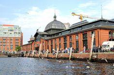 Hamburg/ Altona: Fischauktionshalle