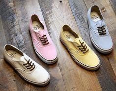 214953c5993 Vans Brushed Twill Authentic Sneaker Vans Authentic