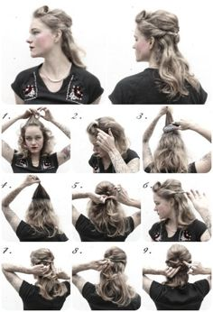 How-To Hair Girl   1940's hairstyles Archives