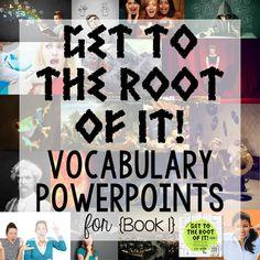 Greek and Latin Roots, Prefixes, Suffixes Ultimate Bundle • Teacher Thrive Cooperative Learning Strategies, Vocabulary Strategies, Vocabulary Games, Classroom Procedures, Teaching Procedures, Ela Classroom, Classroom Ideas, Roots Book, Latin Root Words