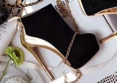 bota feminina glamour - importada