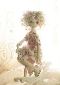 Iliana, art doll, ooak (rwdolls.com) Ems, Art Dolls, Disney Characters, Fictional Characters, Textiles, Romantic, Disney Princess, Olympus, Digital Camera