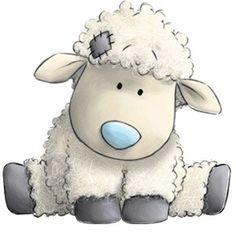 Sheepishly cute lamb