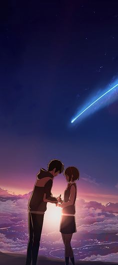 your name your name _ your name wallpaper _ your name anime _ your name metadinha _ your name kimi no na wa _ your name aesthetic _ your name wallpaper aesthetic _ your name icon Your Name Movie, Your Name Anime, Movie Wallpapers, Animes Wallpapers, Art Manga, Manga Anime, Miyazaki, Mitsuha And Taki, Kimi No Na Wa Wallpaper