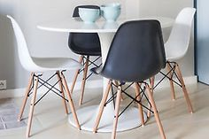 Image result for Chaise Eames noire
