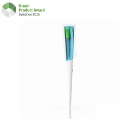 Rethinking an everyday product and optimising its sustainability - this was the basic idea behind the development of the innovative manual brush TIO. The result shows a consequent design and communicates the sustainable approach in an aesthetic manner, without neglecting the important aspect of dental care. The implementation of bioplastics made from renewable resources combined with an intelligent product- and packaging design, reduces CO2 emissions and moreover saves valuable resources.