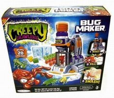 A list of Christmas presents you wanted at a kid in the 90s. I had this creepy crawlers toy and I loved it.