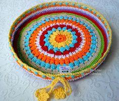 Tecendo Artes em Crochet: Capa p/ Banquinhos Tamanho Pequeno...