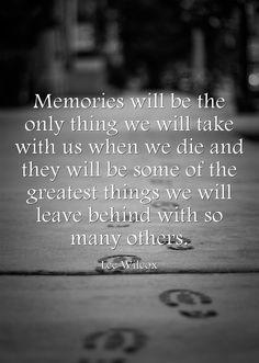 Leave your best memories...
