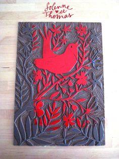 studiotomso-atelier-linogravure-19 Stamp Printing, Screen Printing, Linocut Prints, Art Prints, Stamp Carving, Encaustic Painting, Woodblock Print, Art Lessons, Printmaking