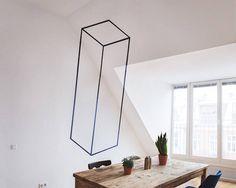 Graphic Designer Decorates Hostel With Mesmerizing Geometric Optical Illusions - DesignTAXI.com